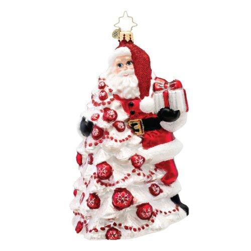 Christopher Radko Red Splendor Glass Christmas Ornament 2014