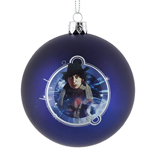 Doctor Who 4th Doctor Shatter-Proof 80mm Christmas Ornament