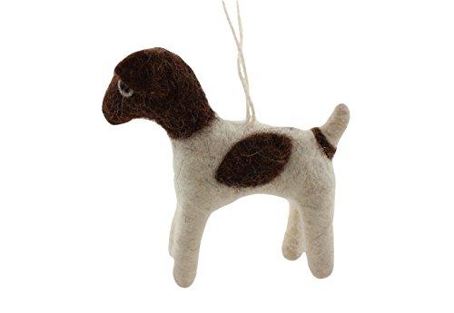 Cody Foster Felt Dog Shaped Ornament – Terrier Dog
