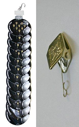 Christopher Radko Gold Ornament Clips