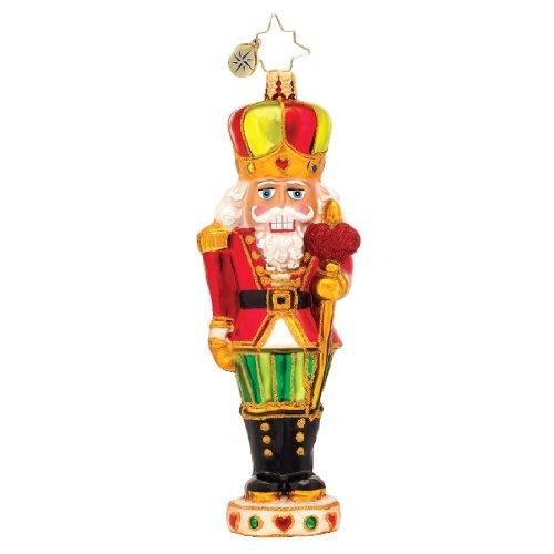 Christopher Radko Sir Warm-Heart Nutcracker Glass Christmas Ornament 2014