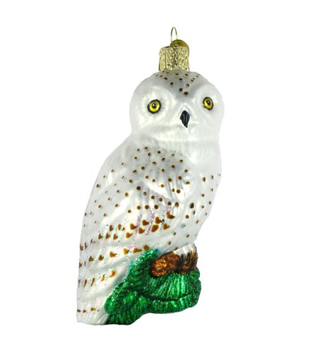 Old World Christmas Great White Owl Ornament