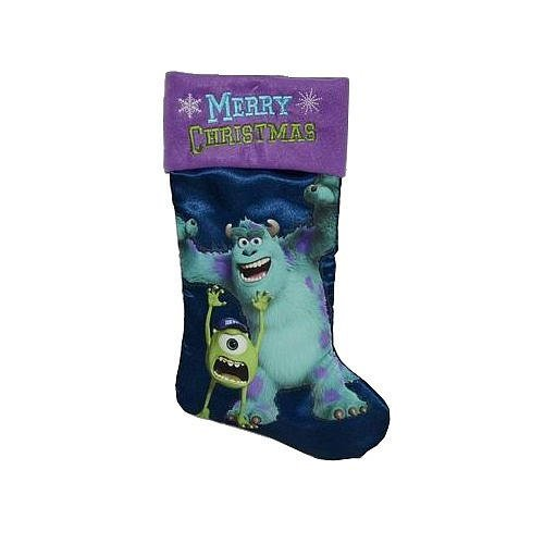 Disney Christmas 20″ Gift Stocking (Monster University Stocking)