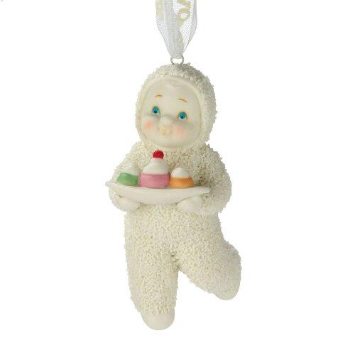Department 56 Snowbabies by Kristi Jensen Pierro Don't Mess with My Dessert Ornament, 2-3/4-Inch