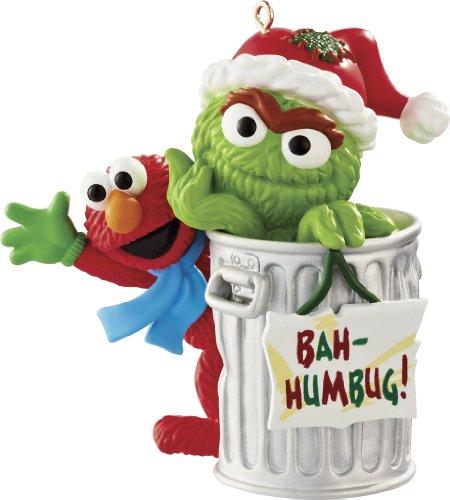Carlton Heirloom Ornament 2013 Elmo and Oscar the Grouch – #CXOR053D