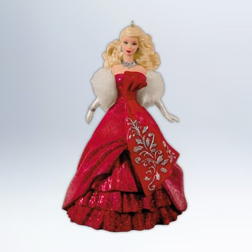Hallmark Celebration Holiday Barbie Ornament Christmas 2012
