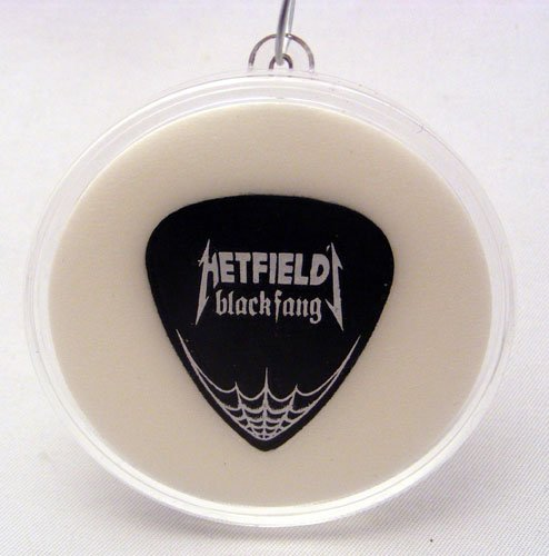 Metallica James Hetfield BF Guitar Pick With MADE IN USA Christmas Ornament Capsule