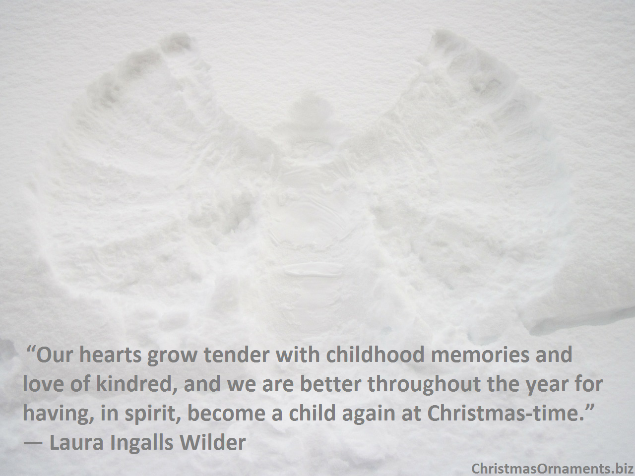 Christmas Quote – Laura Ingalls Wilder