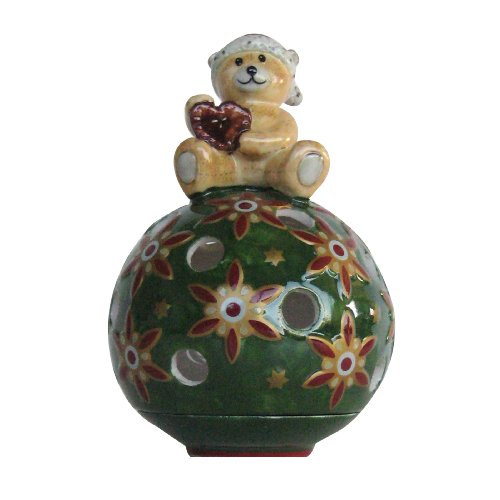 Villeroy & Boch Christmas Light Ball of Light, Bear/Gingerbread
