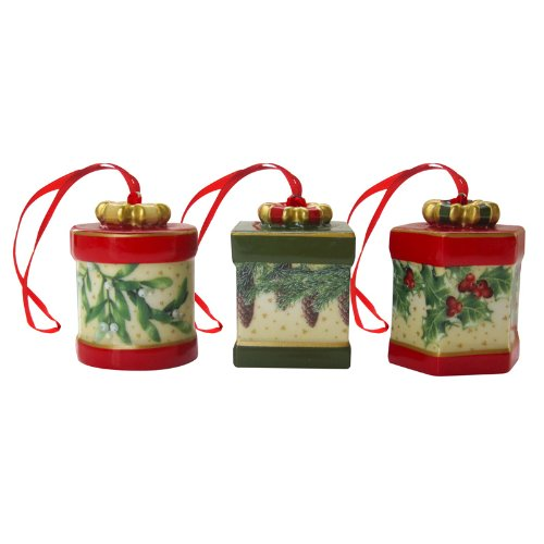 Villeroy & Boch Nostalgic Ornaments Gift Box Set Of 3