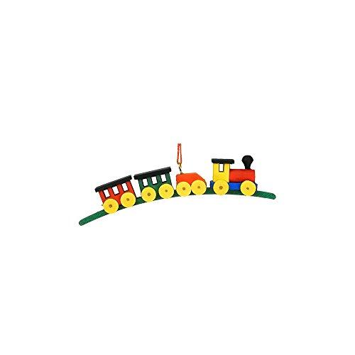 "10-0036 – Christian Ulbricht Ornament – Train Medium Size – .75″""H x .75″""W x 4.25″""D"