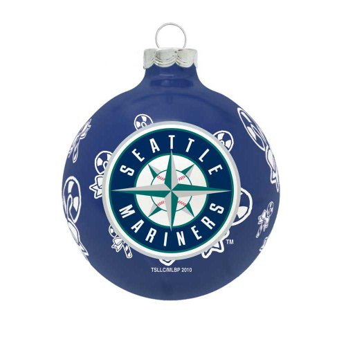 MLB Seattle Mariners Traditional 2 5/8″ Ornament