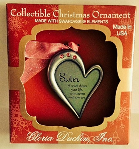 Gloria Duchin Sister Ornament 2014