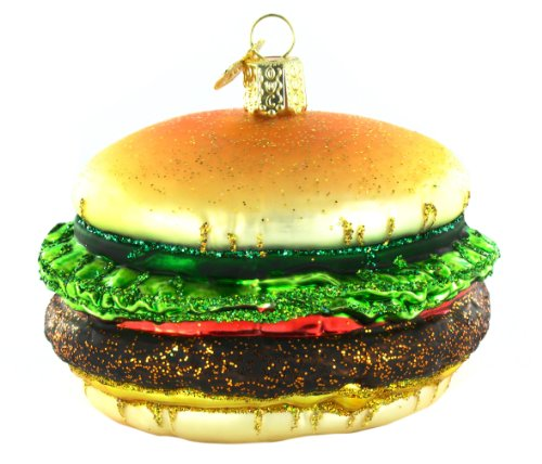 Old World Christmas Cheeseburger Ornament