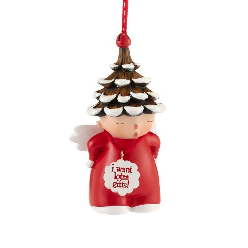Department 56 Once Upon a Pinetree Ornament, 3.5-Inch