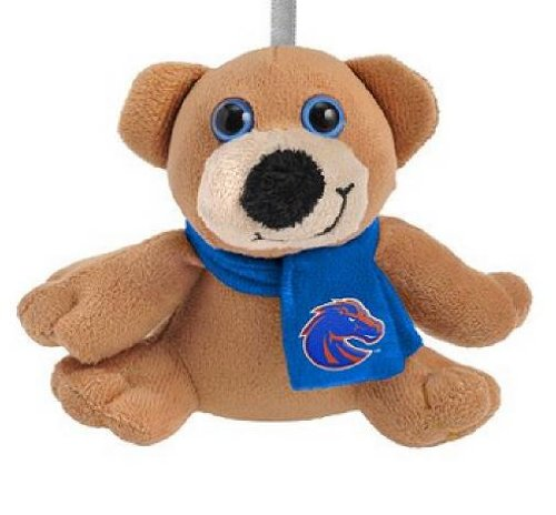 Forever Collectibles 4.5″ Boise State Broncos Plush Bear with Scarf Ornament