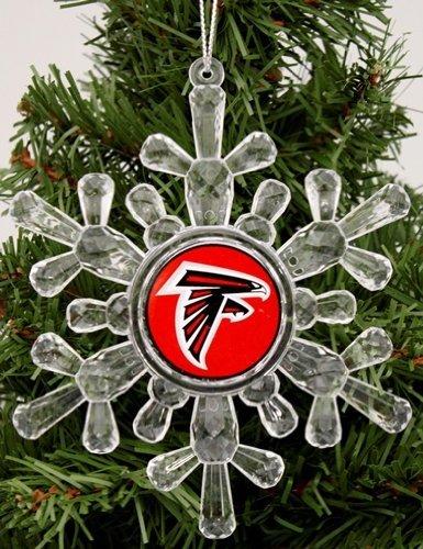 Atlanta Falcons Snowflake Ornament