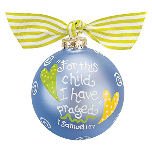 For This Child Ornament {Blue}