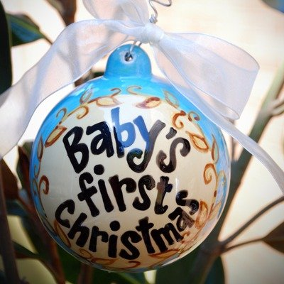 Baby's First Ball Ornament