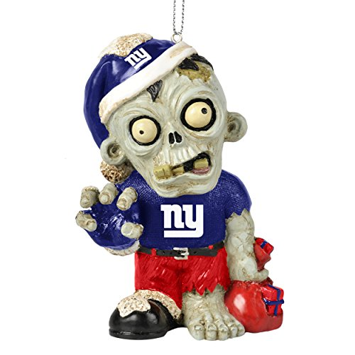 NFL 2014 Zombie Christmas Hanging Ornament 4″ (New York Giants)