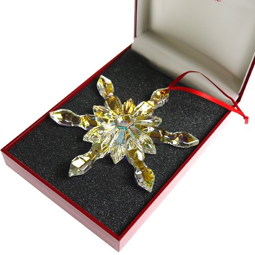 Baccarat (Baccarat) limited ornament snowflake iridescent 613-009