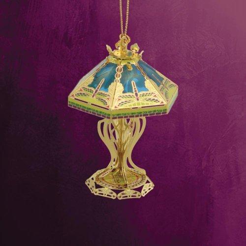 ChemArt 2.5″ Collectible Keepsakes Tiffany Lamp Christmas Ornament