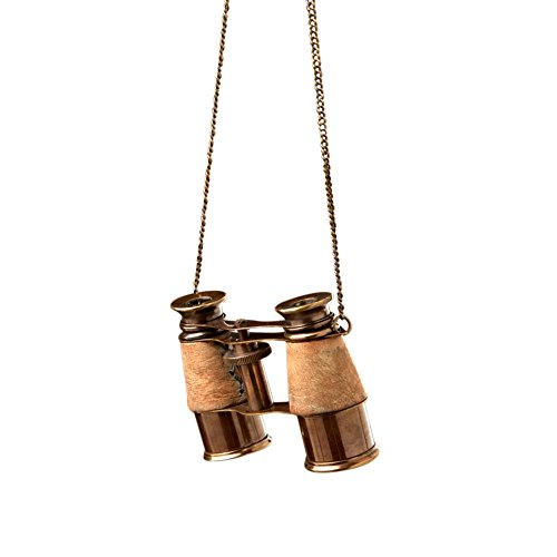 Sage & Co. EAO16434 Brass Binocular Ornament, 4-Inch