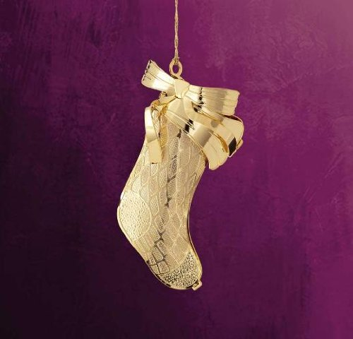 Elegant Stocking – Ornament