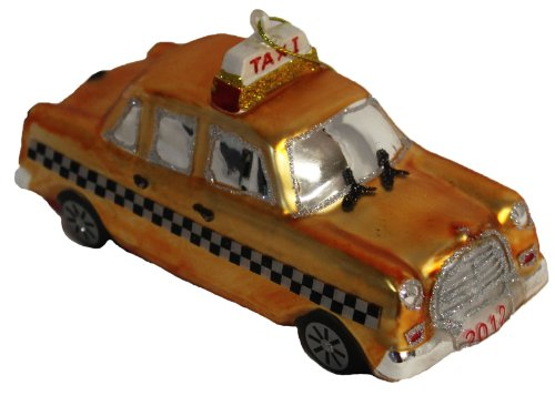 St. Nicholas Square 2012 Taxi Ornament