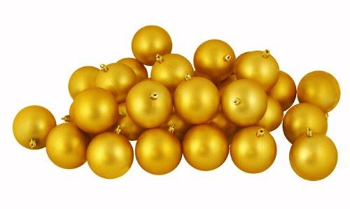 Vickerman Ball Ornament, 80mm, Antique Gold