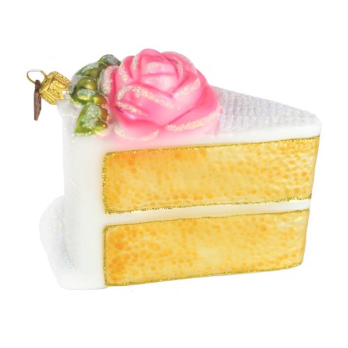 Eric Cortina Pink Birthday Cake Ornament