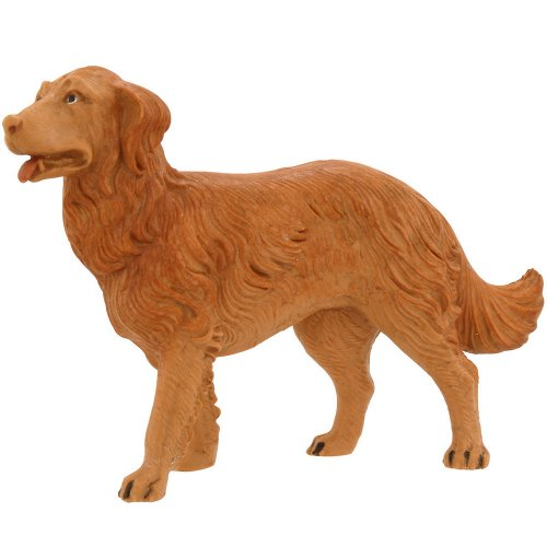Roman Fontanini Dog Figurine, 7.5″ Scale Series