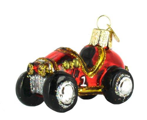 Old World Christmas Race Car Ornament