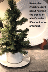 Christmas Tree – Who's Around It
