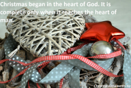 Christmas – Heart Of God And Man