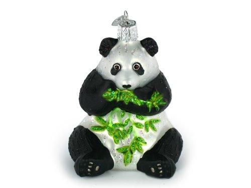 Old World Christmas Panda Ornament