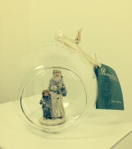 Bethany Lowe Christmas – Winter Fun Globe Ornament CW0983 (Santa)