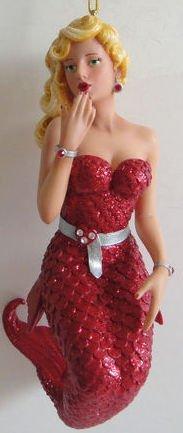 "December Diamonds ""Lovie"" Mermaid Ornament"