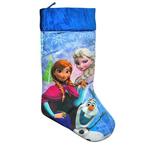 Disney Frozen 20″ Slinky Satin Fully Printed Christmas Stocking
