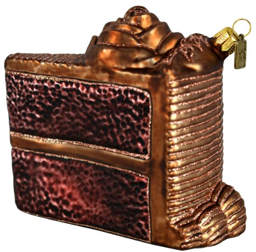 Eric Cortina Chocolate Birthday Cake Ornament