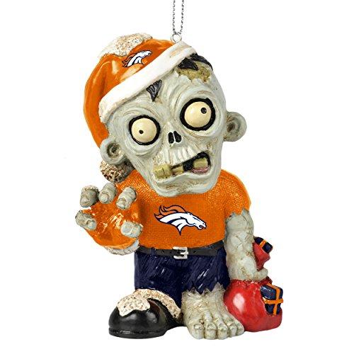 NFL 2014 Zombie Christmas Hanging Ornament 4″ (Denver Broncos)