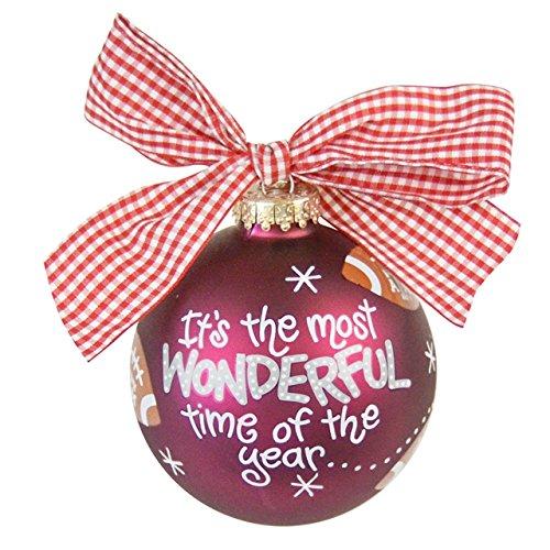 TX A&M Most Wonderful Time Ornament Football