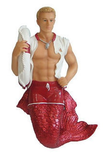 December Diamonds Buoy Merman Ornament