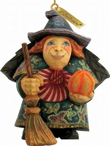 G.DeBrekht Halloween Witch Ornament
