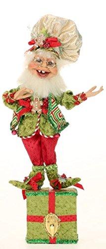 Mark Roberts Elf Stocking Holders 51-42180 Gingerbread Elf 14 inch