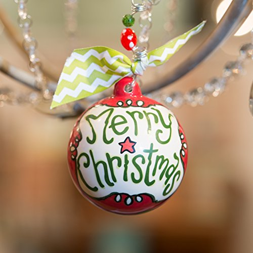 Glory Haus Merry Christmas Ball Ornament
