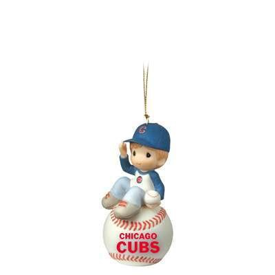 I Have A Ball With You – Chicago Cubs – MLB Chicago Cubs Boy on Baseball Ornament