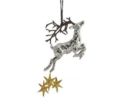 Michael Aram Reindeer Ornament