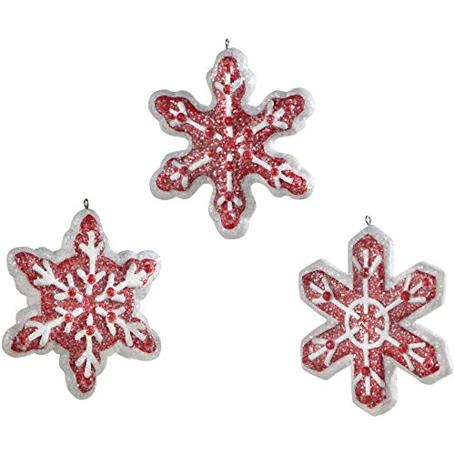 Sage & Co. XAO11589RW Snowflake Ornament Assortment