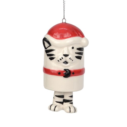 Department 56 Dear Santa Christmas Décor Cat Bell Ornament, 3.25-Inch